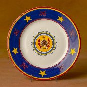 Il Palio  Dinner Plate,  Conch Shell
