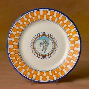 Il Palio Dinner Plate, Unicorn