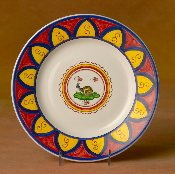 Il Palio  Dinner Plate,  Snail