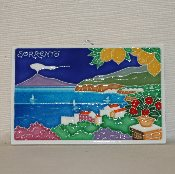 Cities of Italy Tile - Sorrento 4x6""