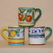 Mug 8oz. Agrumi, Limoni, & Penny options