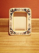 "Picture Frame 4x6"" - Ricco pattern - Deruta, Italy"