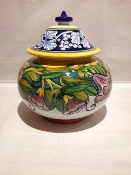 Jar with lid 10 inch
