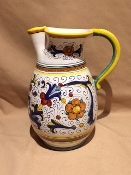Deruta, Italy Patterns, Ricco Pitcher 2-qt