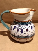 Deruta, Italy Patterns,  Penny Pitcher 1qt