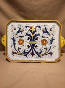 "Large Serving Tray 12x19"", Deruta, Italy"
