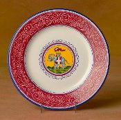 Il Palio, Dinner Plate, Elephant