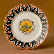 Il Palio  Dinner Plate, Owl
