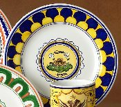 Il Palio  Dinner Plate,  Turtle