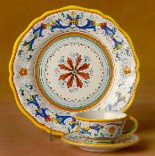 MOD Deruta, Italy Patterns, Ricco, Dinner Plate