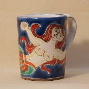 "De Simone Mug, Mermaid 3x4""h"