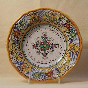 MOD Deruta, Italy Patterns, Soup Bowl