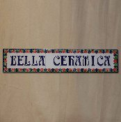 "Letter and Border Tile 2x6"" A-Z (Personalize)"