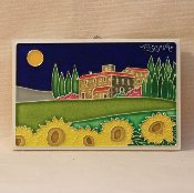 Luciano - Tuscany Countryside Tile 4 x 6 inches