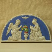 "Della Robbia Annunciation 5x9"" (out-of-stock)"