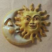 "Simonetti Sun and Moon - 8x10"" - Castelli, Italy"