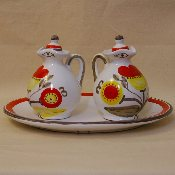 Oil and Vinegar w/tray - Discontinued