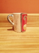 "De Simone Libra Mug 3-1/2x4""h (Out-of-stock)"