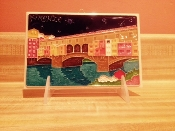 Creazione Luciano Florence tile Old Bridge 4 x 6 inches
