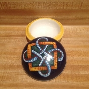 "Classic Geometry, Keepsake Box 3-1/2x2-1/2""h"