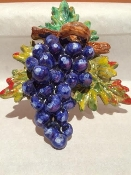 MOD Wall Fruit Relief, Grapes 7x7 inches
