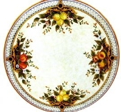 Table w/Base - 39 inches, Deruta, Italy