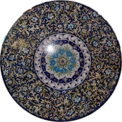 Table - 39 inches, Deruta, Italy
