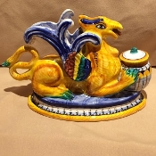 "MOD - Inkwell - Griffin - 5x10x6""h"