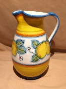 Deruta, Italy Patterns, Limoni Pitcher 2-qt