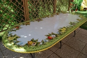 Garden Table - Deruta, Italy