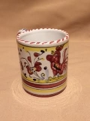 MOD Mug 8oz. Orvieto Red pattern