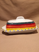 Butter Dish - Pantelleria Pattern - Palermo, Italy