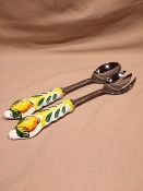 Salad Servers - Deruta, Italy (Out of stock)