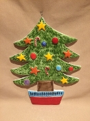 "De Simone Christmas Tree Wall Hanging 9x11""(Out-of-stock)"