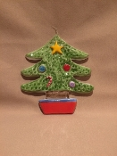 De Simone Christmas Tree Wall Hanging 5x6""