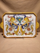 "MOD Large Serving Tray 12x19"", Deruta, Italy"