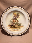 "Spring Wall Plate 16"", Giancarlo Calonici - Special order"