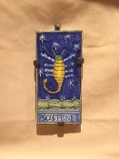 Astrological Tile - Scorpio 4x8""