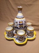 Deruta, Italy Patterns,  Ricco Cordial Set