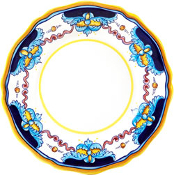 Dinner Plate #ES1 - Simplified Pattern, Deruta, Italy