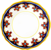Dinner Plate #ES10 - Simplified Pattern, Deruta, Italy