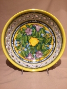 Lilium Bowl - Center Piece w/Pedestal - 14 inch