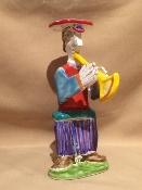 "Marching Musician Trumpet, 3x4x8""h"