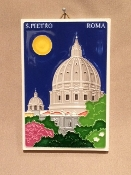 "Luciano - Rome St Peter Tile 4x6"" (Back order)"