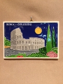 Luciano - Rome Coliseum Tile 4 x 6 inches