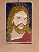 Luciano Jesus Tile 4 x 6 inches