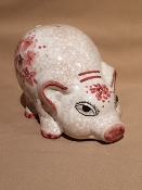 MOD - Piggy Bank Ortensia Pink (It's a Girl) 8x5""