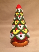 "Mari Christmas Tree Candle Votive 6x11""h"