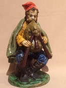 "Dolfi Figure - Bagpipe player - 5 x 7 x 8""h - Florence, Italy"
