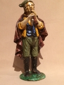 "Dolfi Figure - Flute player - 4 x 4 x 9""h - Florence, Italy"